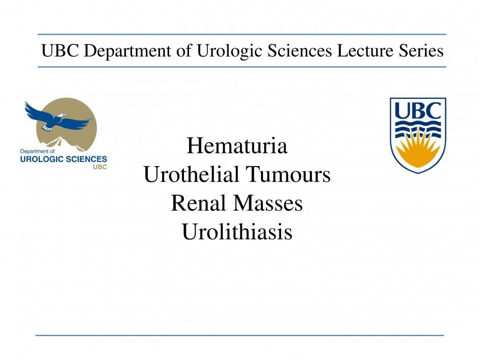 Hematuria cover